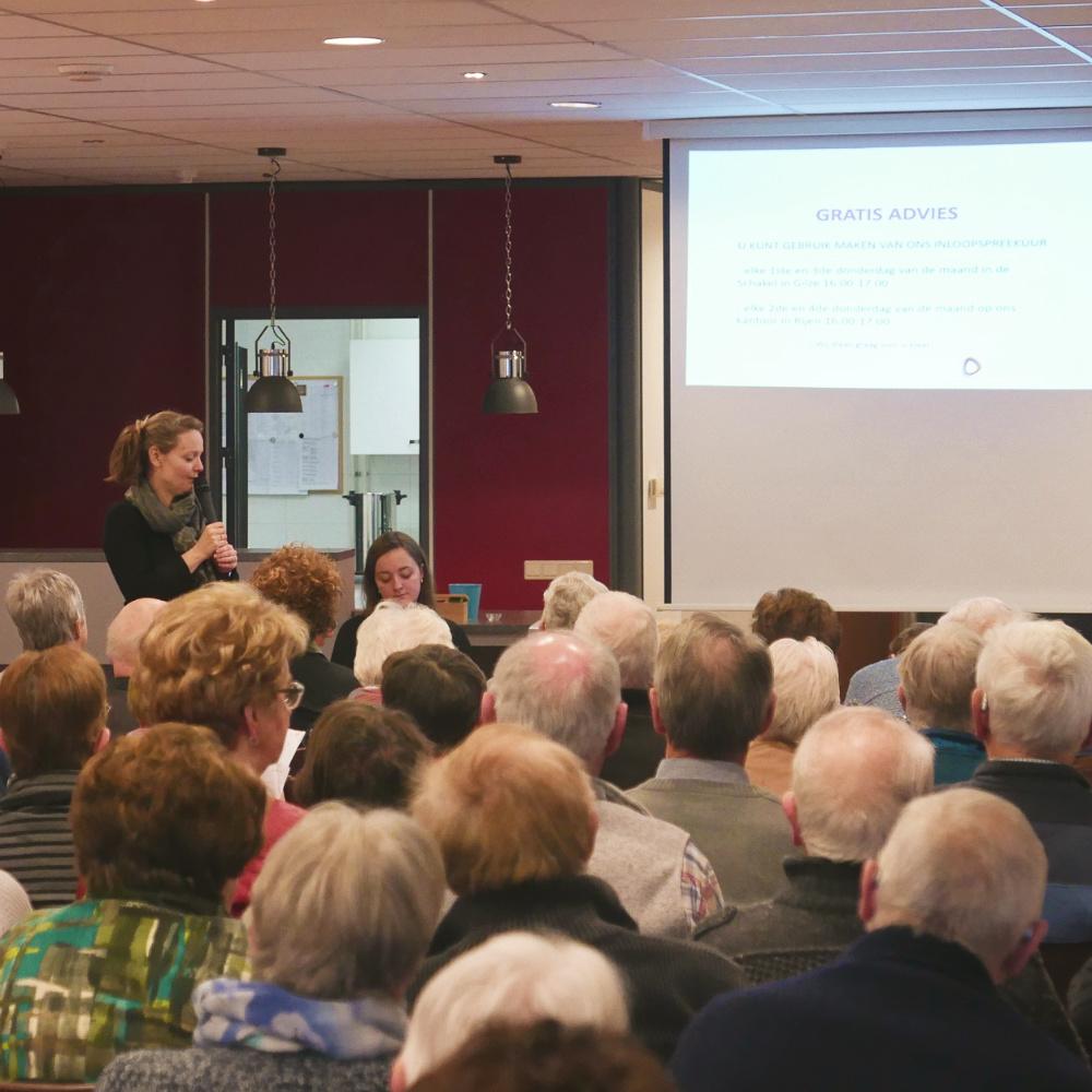 Lezing Senioren-Vereniging Rijen
